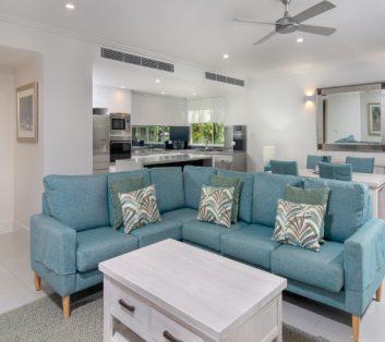 Executive Apartment Living Area